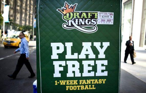 Draft Kings Sign