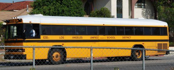Los Angeles Public School Bus