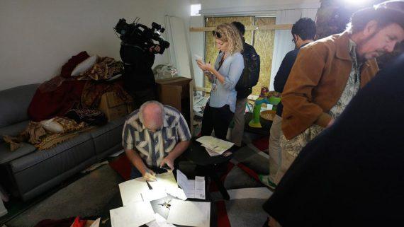 Media San Bernardino Shooters Home