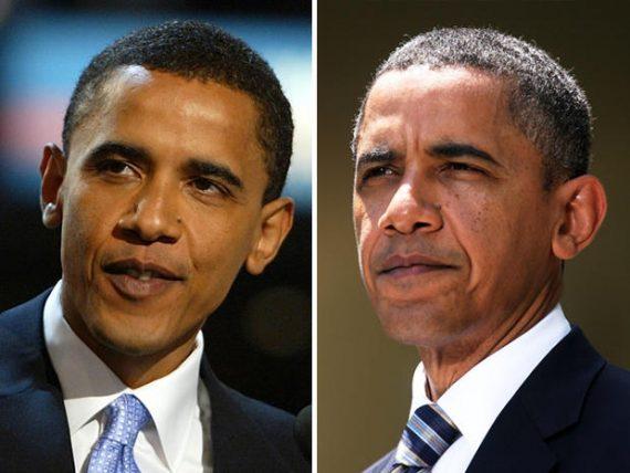 Obama Aged Photos