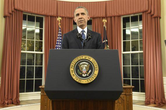 Obama Oval Office Podium