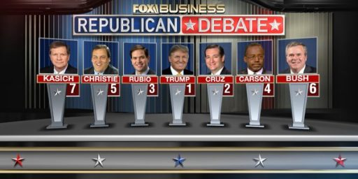 Fox Business Network Announces Debate Lineup, With Paul And Fiorina Sent To Kid's Table