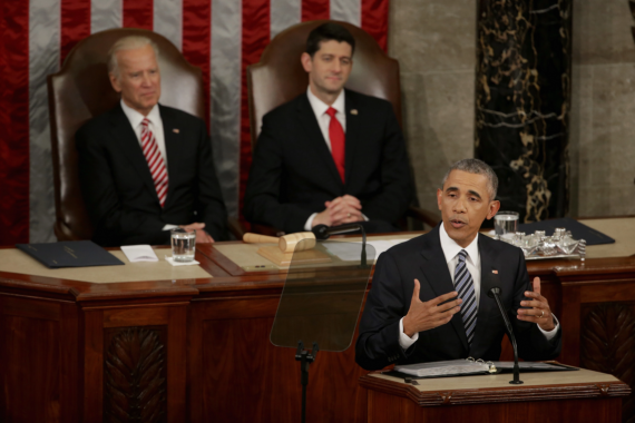 Obama 2016 State Of The Union