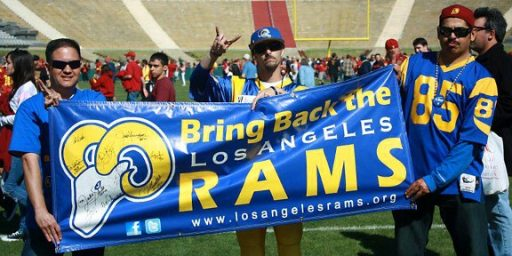 Rams Returning to Los Angeles; Chargers May Join Them