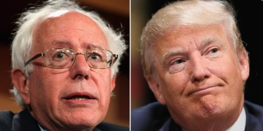 Donald Trump And Bernie Sanders Hold On To Solid Leads In New Hampshire