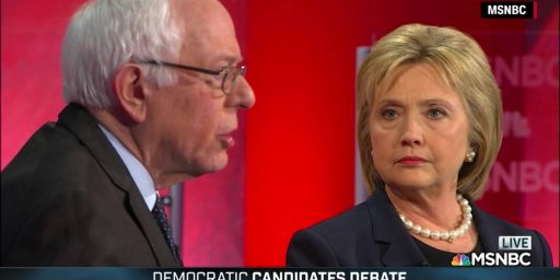 Hillary Clinton And Bernie Sanders Clash In First One-On-One Debate