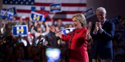 Hillary Clinton Sweeps Four Of Five Mid-Atlantic States, Edges Closer To Delegate Majority