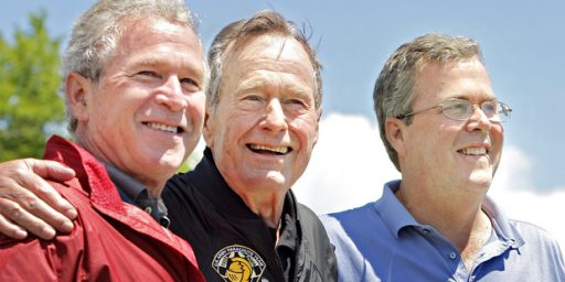The End, At Least For Now, Of The Bush Dynasty