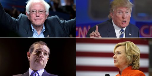 Trump, Clinton Win Arizona, While Sanders And Cruz Capture Caucus Wins