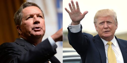 John Kasich Appears To Rule Out A Primary Challenge Against Trump