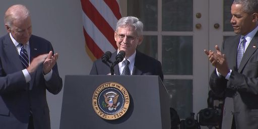 President Obama Selects Judge Merrick Garland To Fill Supreme Court Vacancy