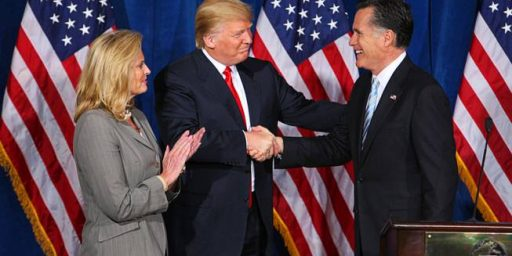 Mitt Romney Denounces Donald Trump, But It's Likely To Amount To Much Ado About Nothing