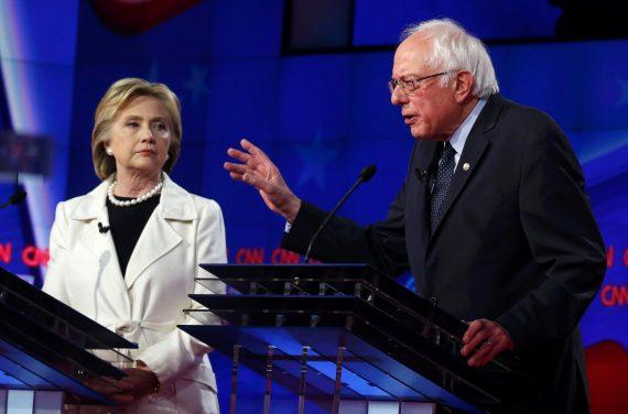 Clinton Sanders 414 debate