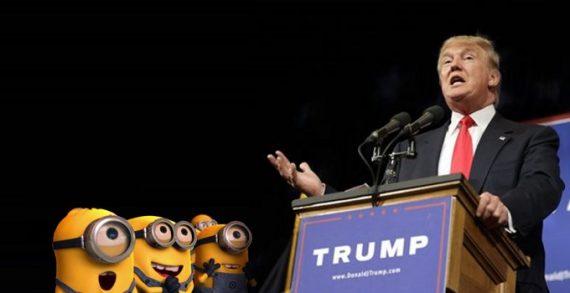 Minions-and-Trump