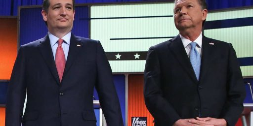 "Cruz-Kasich ""Alliance"" Already Falling Apart"