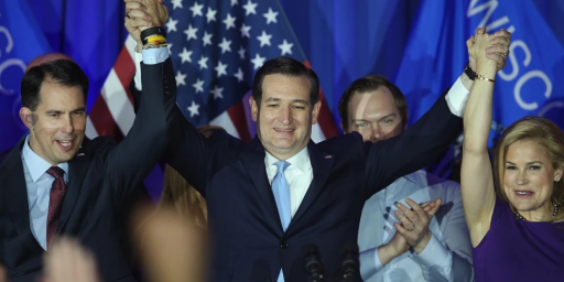 Ted Cruz Wins Big In Wisconsin