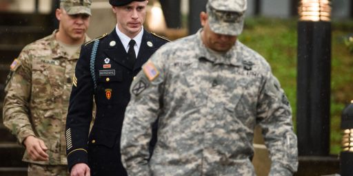 Bowe Bergdahl Receives Dishonorable Discharge, Reduction In Rank, Will Not Serve Prison Time