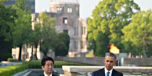 Obama's Visit To Hiroshima Brings Reflection, But No Apologies