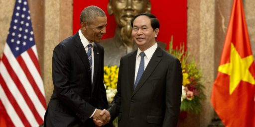 Obama Announces End Of U.S. Arms Embargo Against Vietnam