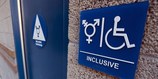 Education Dept. Stops Investigating Complaints By Transgender Students About Bathroom Access.