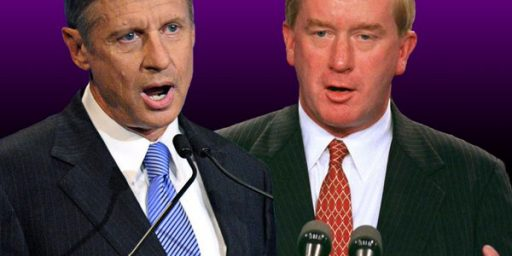 Gary Johnson, Bill Weld, and the 'Libertarian Party'