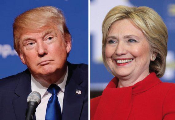 Donald Trump Hillary Clinton 2