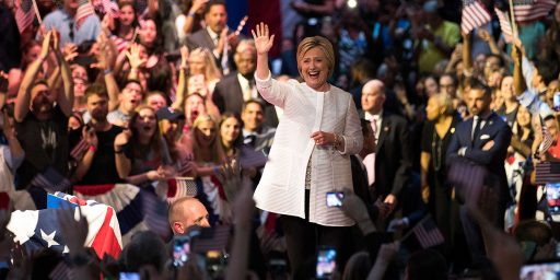 Clinton Wins Final 'Super Tuesday' Of 2016, Claims Victory In Nomination Fight