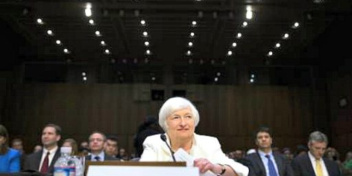 Janet Yellen Hints At Slow Economic Growth, But No Recession, Going Forward