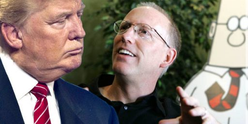 Dilbert's Scott Adams and Donald Trump