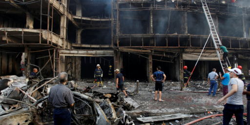 ISIS Attack Kills More Than 140 In Baghdad