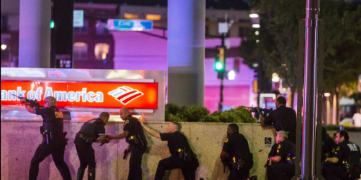 Eleven Dallas Police Officers Shot, Five Dead, In Ambush At Protest