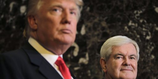 Trump Campaign Reportedly Vetting Newt Gingrich For The Vice-Presidency