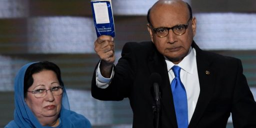 A Gold Star Father Rebukes Donald Trump