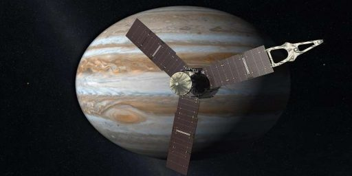NASA's Juno Probe Enters Orbit Of Jupiter