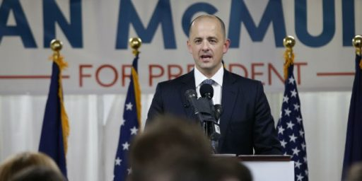 Evan McMullin's Presidential Campaign Not Going So Well