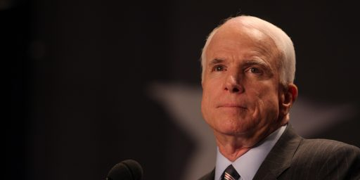 John McCain Ceasing Medical Treatment