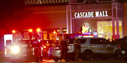 Five Dead In Mall Shooting In Washington State, Gunman Still At Large