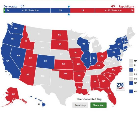 2016 Senate Prediction DEM