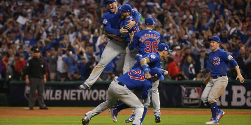 Cubs Break 108 Year Old Drought, Win World Series
