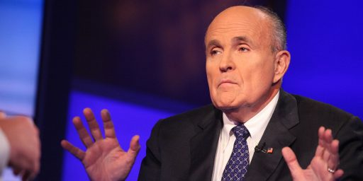 Secretary Of State Rudy Giuliani?