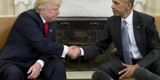 Trump And Obama Continue A Long And Important Tradition