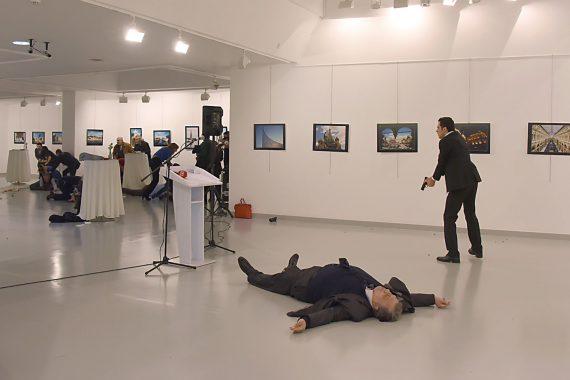 Russian Ambassador Turkey Assassination