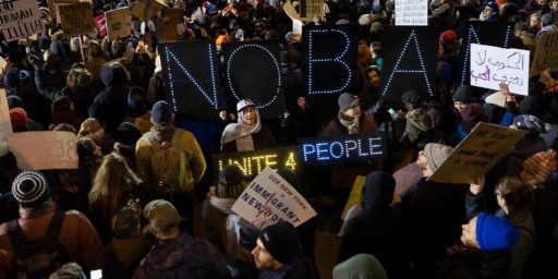 Protests And Court Orders Push Back Against Trump's Muslim Ban