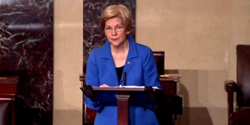 Senator Elizabeth Warren Silenced By Senate During Debate On Sessions Nomination