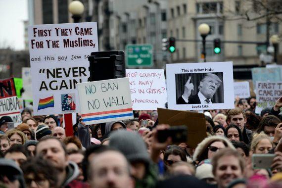 Trump Muslim Ban Protests