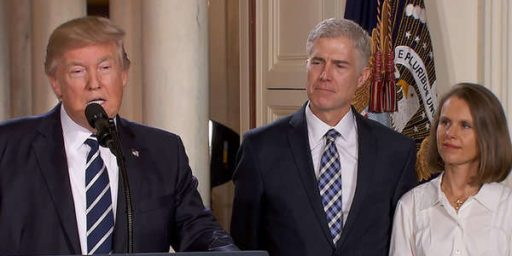 Trump Names Judge Neil Gorsuch To Supreme Court