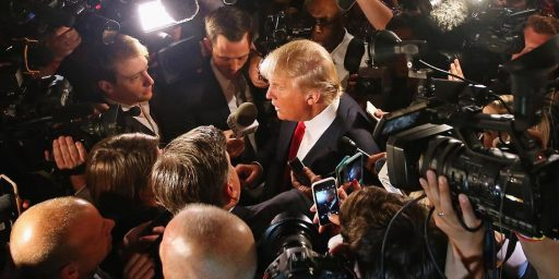 There's Only One Right Side In Trump's Unjustified War On The News Media