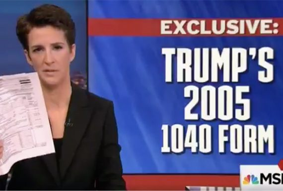 Rachel Maddow Trump Tax Return