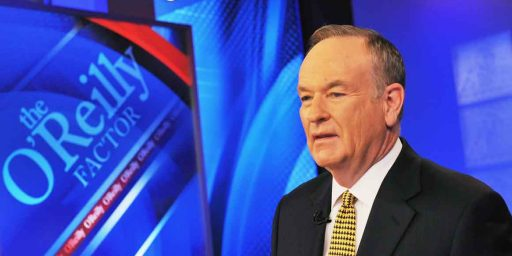 Bill O'Reilly Out At Fox News Channel