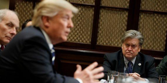 Donald Trump Steve Bannon